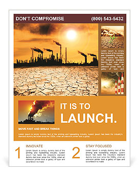 Pollution Issue Flyer Template