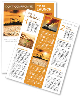 Pollution Issue Newsletter Templates