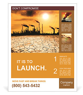 Pollution Issue Poster Template