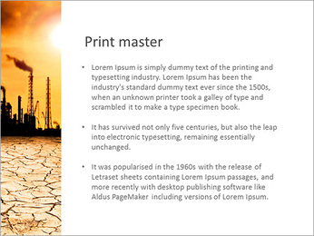Pollution Issue PowerPoint Templates - Slide 76