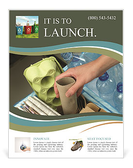 Collect Garbage Flyer Templates