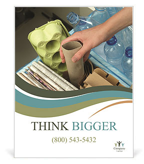 Collect Garbage Poster Template