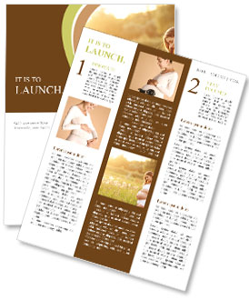 Pregnancy Moment Newsletter Template