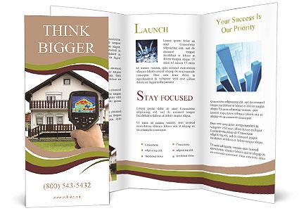 Real Estate Device Brochure Template
