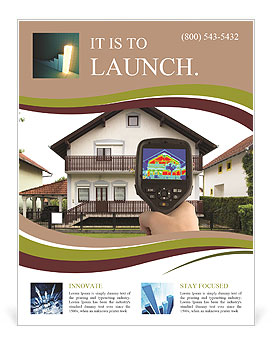 Real Estate Device Flyer Template