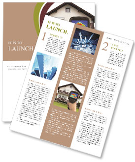 Real Estate Device Newsletter Templates