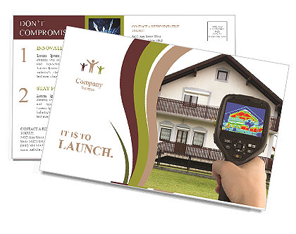 Real Estate Device Postcard Template