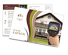 Real Estate Device Postcard Templates