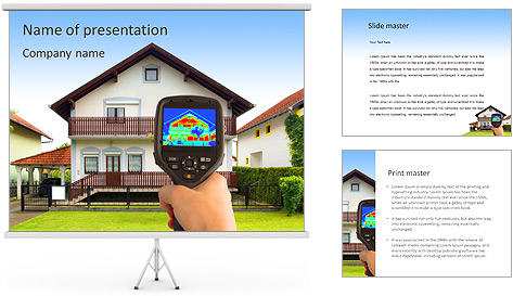 Real Estate Device PowerPoint Template