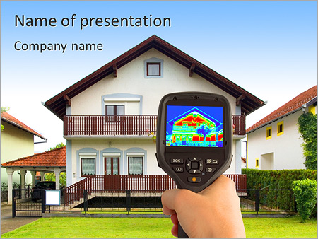 Real Estate Device PowerPoint Templates