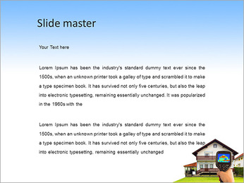 Real Estate Device PowerPoint Template - Slide 2