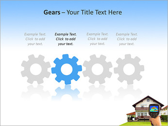 Real Estate Device PowerPoint Template - Slide 28