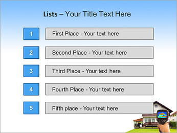 Real Estate Device PowerPoint Template - Slide 3