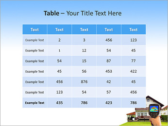 Real Estate Device PowerPoint Template - Slide 35