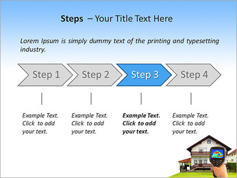 Real Estate Device PowerPoint Template - Slide 4