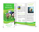 Lie On Grass Brochure Template