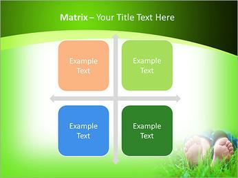 Lie On Grass PowerPoint Template - Slide 17