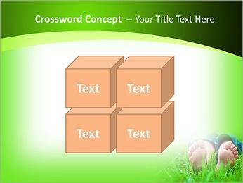 Lie On Grass PowerPoint Template - Slide 19