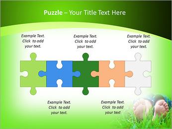 Lie On Grass PowerPoint Template - Slide 21