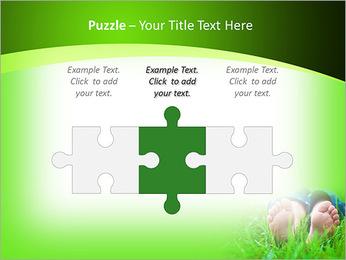 Lie On Grass PowerPoint Template - Slide 22
