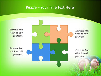 Lie On Grass PowerPoint Template - Slide 23