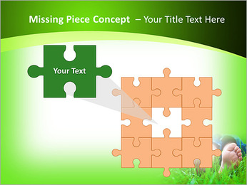 Lie On Grass PowerPoint Template - Slide 25