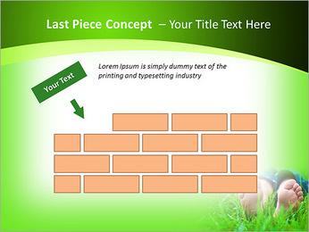 Lie On Grass PowerPoint Template - Slide 26
