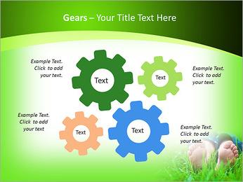 Lie On Grass PowerPoint Template - Slide 27