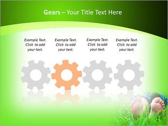 Lie On Grass PowerPoint Template - Slide 28