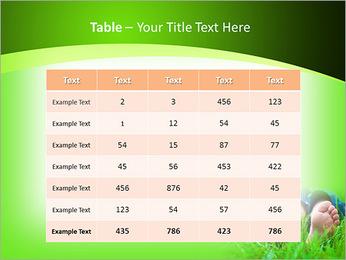 Lie On Grass PowerPoint Template - Slide 35