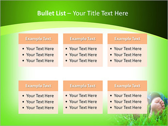 Lie On Grass PowerPoint Template - Slide 36
