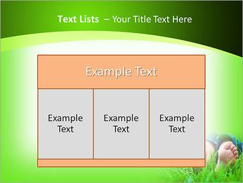 Lie On Grass PowerPoint Template - Slide 39