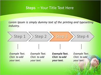 Lie On Grass PowerPoint Template - Slide 4