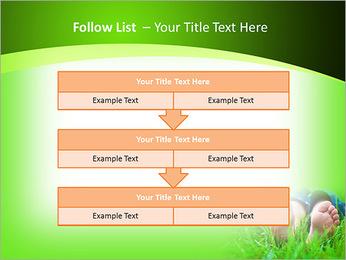 Lie On Grass PowerPoint Template - Slide 40