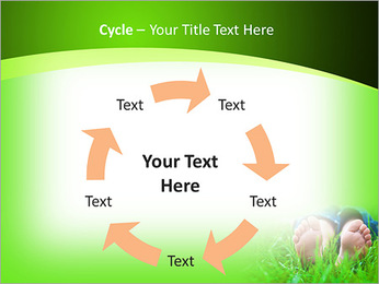 Lie On Grass PowerPoint Template - Slide 42