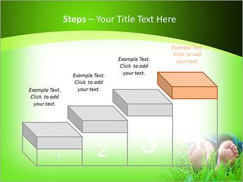 Lie On Grass PowerPoint Template - Slide 44
