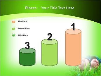 Lie On Grass PowerPoint Template - Slide 45