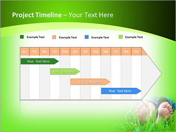 Lie On Grass PowerPoint Template - Slide 5