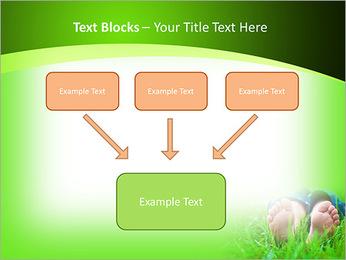 Lie On Grass PowerPoint Template - Slide 50