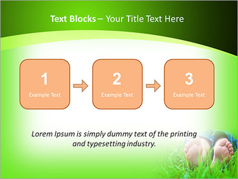 Lie On Grass PowerPoint Template - Slide 51