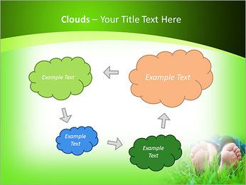 Lie On Grass PowerPoint Template - Slide 52