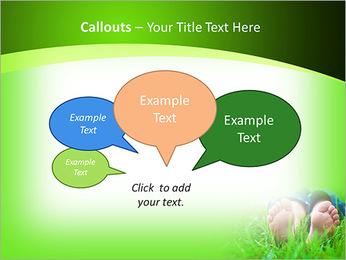 Lie On Grass PowerPoint Template - Slide 53