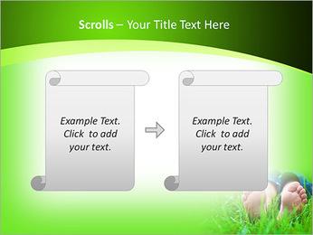 Lie On Grass PowerPoint Template - Slide 54