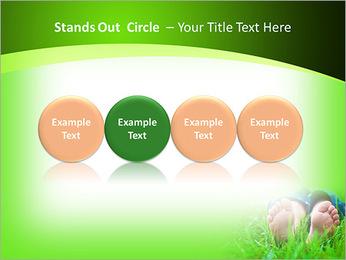 Lie On Grass PowerPoint Template - Slide 56