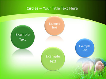Lie On Grass PowerPoint Template - Slide 57