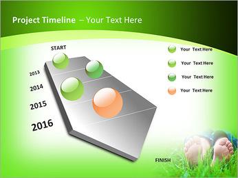 Lie On Grass PowerPoint Template - Slide 6