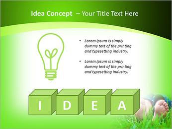 Lie On Grass PowerPoint Template - Slide 60