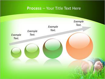 Lie On Grass PowerPoint Template - Slide 67