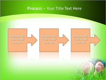Lie On Grass PowerPoint Template - Slide 68