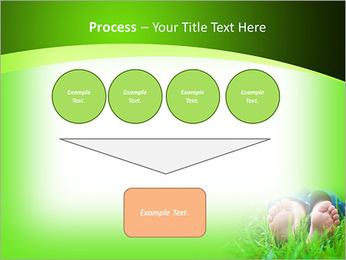 Lie On Grass PowerPoint Template - Slide 73